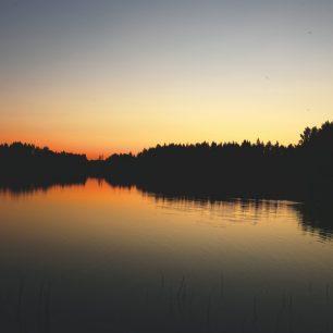 Prakticky každý večer jsme mohli sledovat krásný západ slunce / F: Lea Vargovčíková