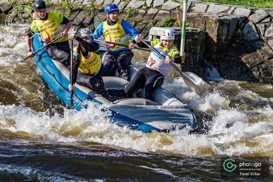 Český pohár v raftingu, České Vrbné 2020 / F: Pavel Klikar